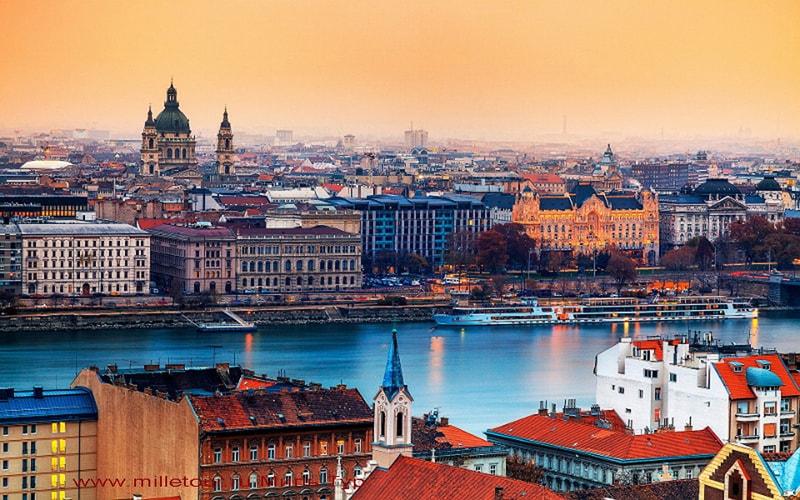 в круиз по Дунаю