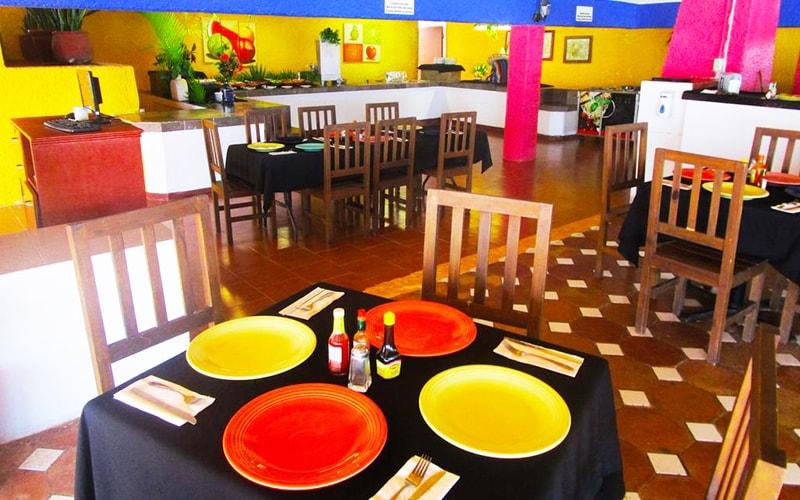 Ресторан в Maya Caribe Beach House Hotel 3*, Канкун, Мексика