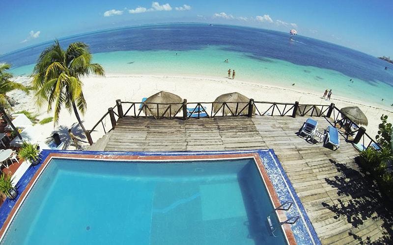 Територія Maya Caribe Beach House Hotel 3*, Канкун, Мексика