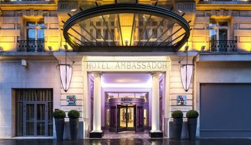 Paris Marriott Opera Ambassador Hotel 4*, Париж, Франция