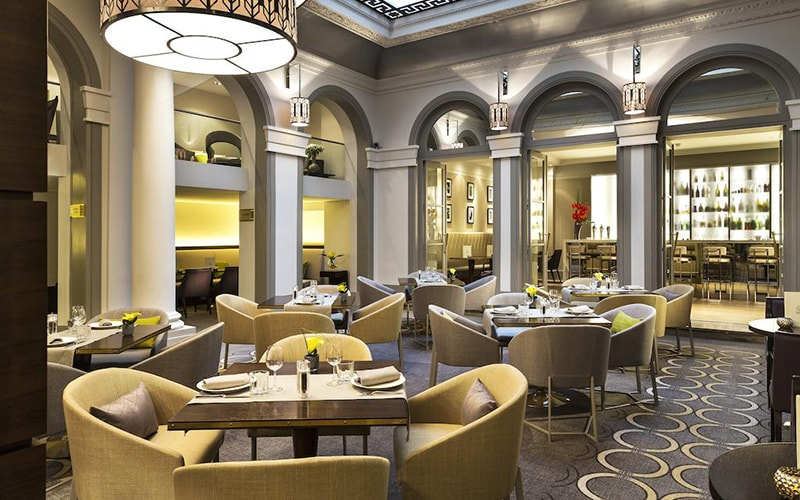Ресторан в Paris Marriott Opera Ambassador Hotel 4*, Париж, Франція