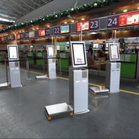 В «Борисполе» теперь можно сдать багаж самостоятельно