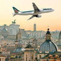 Alitalia предлагает украинцам удобный стоповер в Риме