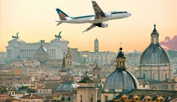 Alitalia пропонує українцям зручний стоповер в Римі