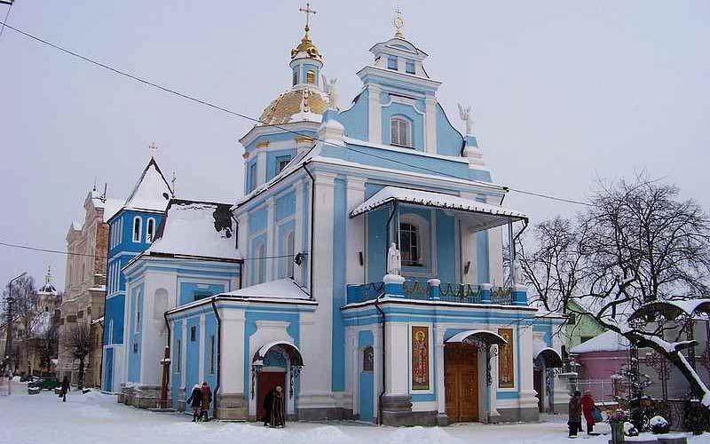 Храм Рождества Пресвятой Богородицы (Самбор, Львовская область)