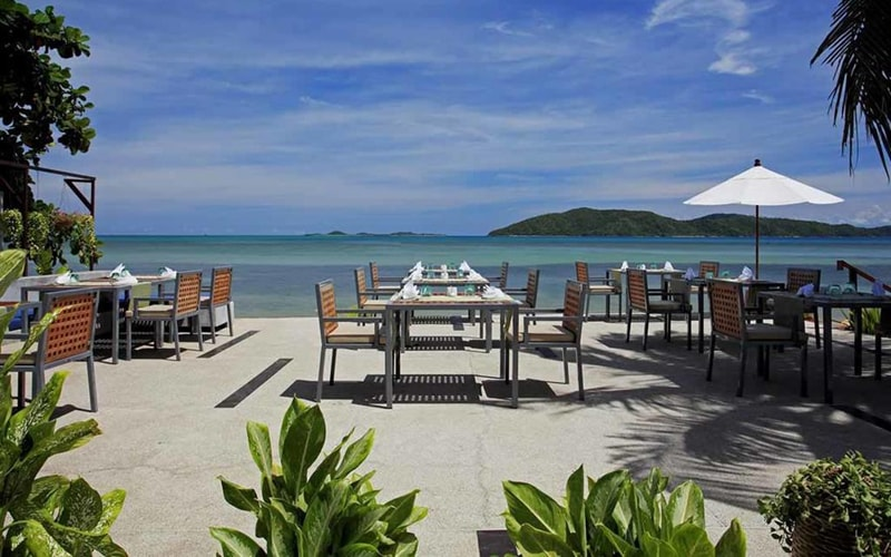 Ресторан в Centra Coconut Beach Resort Samui 3*, о. Самуї, Таїланд