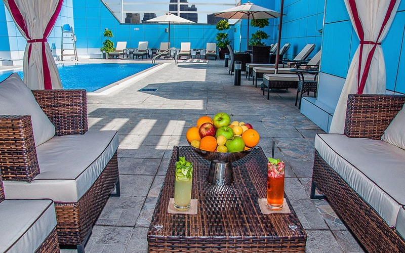 Зона відпочинку в Copthorne Hotel Sharjah 4*, Шарджа, ОАЕ