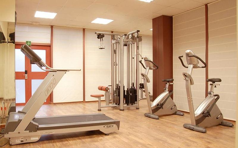 Спортзал в Silken Puerta Madrid Hotel 4*, Мадрид, Испания