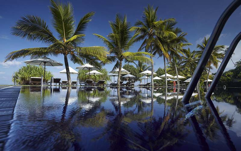 Бассейн The Surf Hotel 4*, Бентота, Шри-Ланка