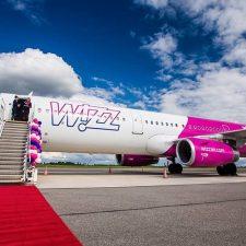 Wizz Air сместил вылет из Львова в Лондон