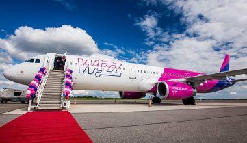 Wizz Air сместил вылет из Львова в Лондон на 4 месяца