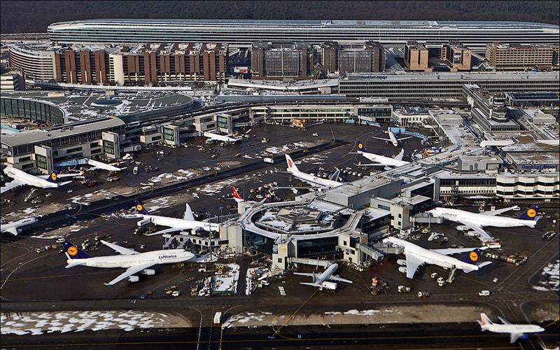 Как не заблудиться в аэропорту Франкфурта