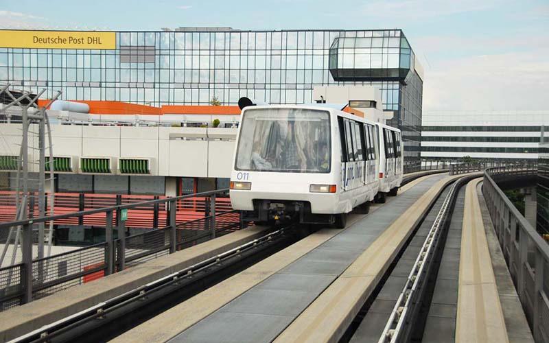 Как добраться из терминала 1 в терминал 2 во Франкфурте