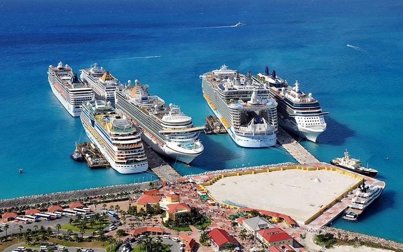 Морские круизы из Майами по Карибским островам