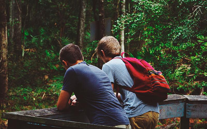 знакомство с подростками из за границей