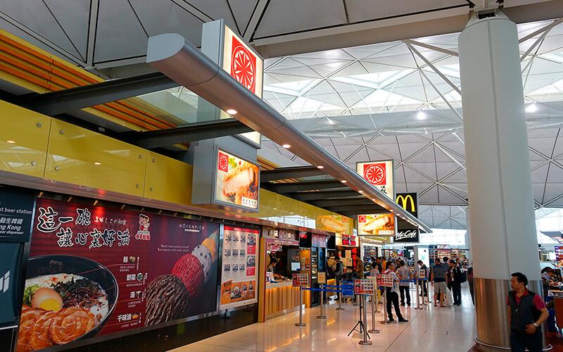 Аэропорт Гонконга или Чхеклапкок, Китай