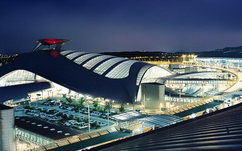 Аэропорт Инчхон, Южная Корея