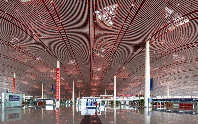 Аэропорт Шоуду в Пекине, Китай