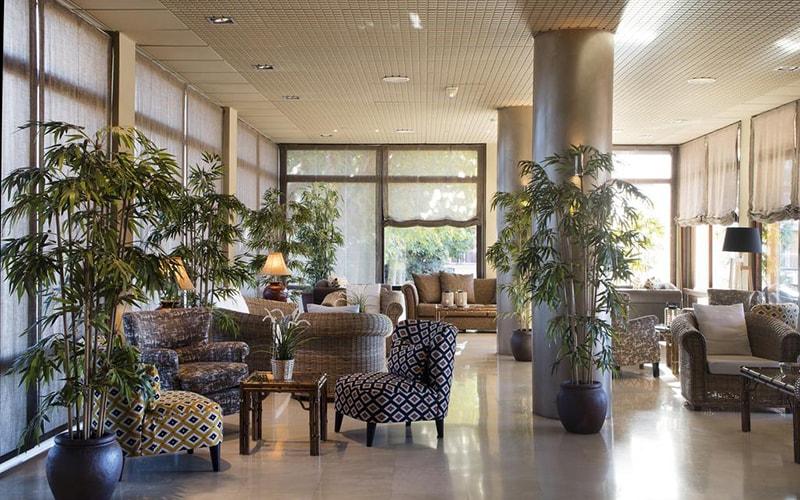 Зона отдыха в Luna Park Hotel 3*, Коста Дель Маресме, Испания