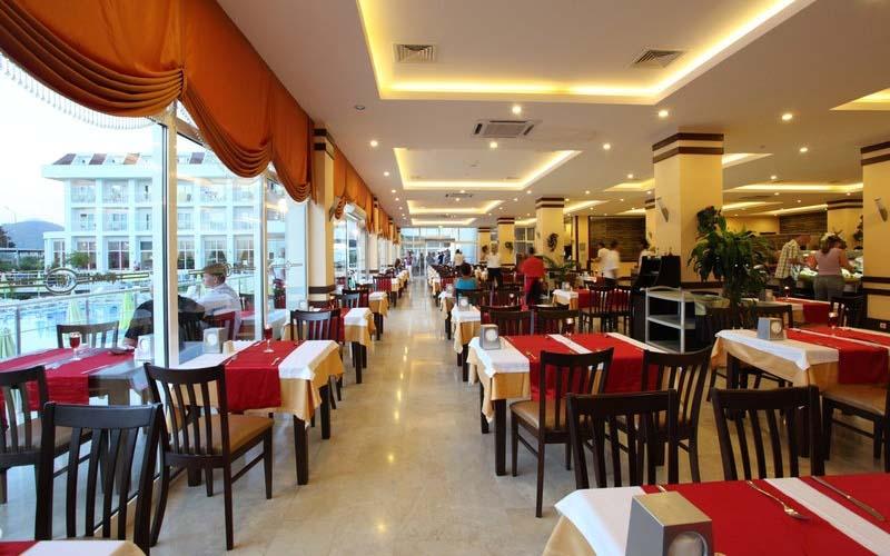 Ресторан в MG White Lilyum Hotel 5*, Кемер, Турция