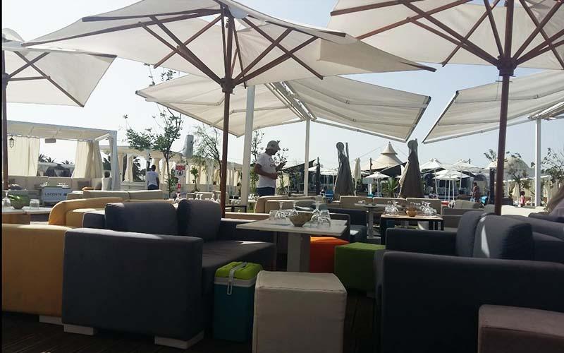 кафе в Mirage Beach Club 4*, Хаммамет, Туніс