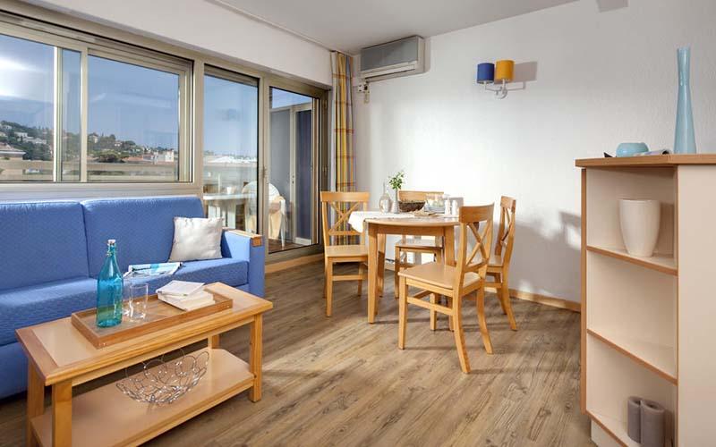 Номер в Residence Maeva Les Platanes 3*, Сен-Тропе, Франция