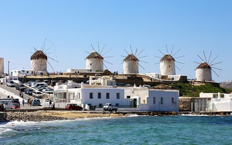 круиз в античную Грецию, Миконос