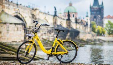 В Праге теперь нельзя кататься на велосипеде днём