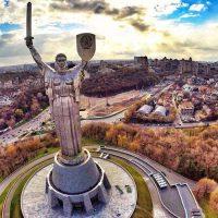 Киев приглашает посетить смотровую площадку почти на 100-метровой высоте