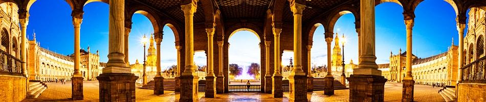 Панорама Севильи