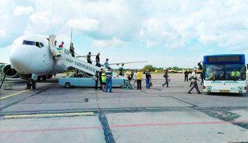 Запорожский аэропорт отменяет часть авиарейсов