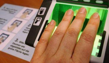 В Китае теперь нужно сдавать отпечатки пальцев