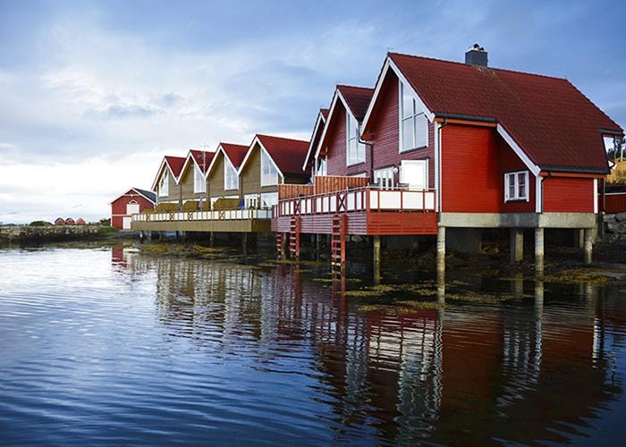 Фаннефьорд, Норвегия