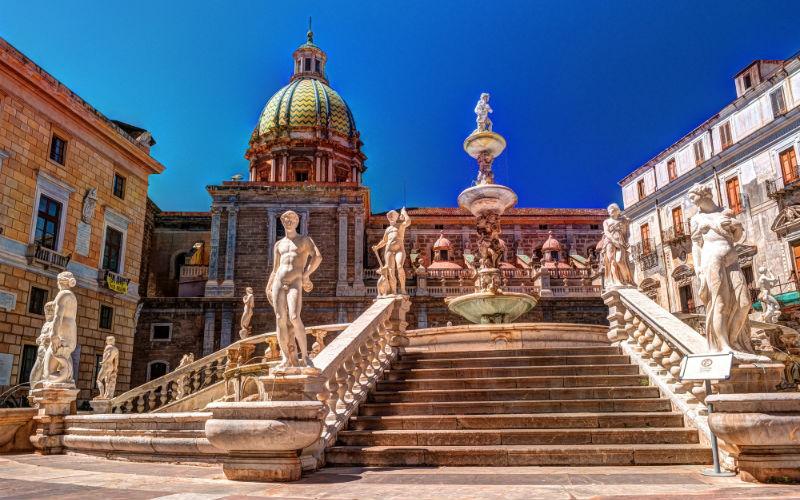Палермо (о.Сицилия, Италия)