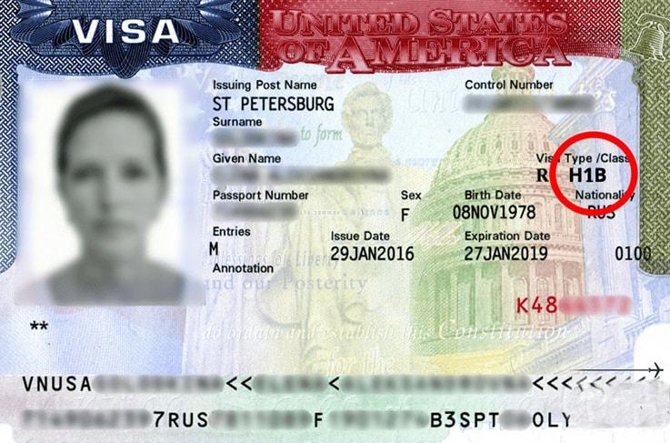 Рабочая виза в США для россиян