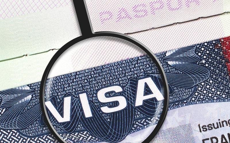 Виза в США в Украине для граждан СНГ и других стран