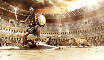 Колизей в Риме будет показывать гладиаторские бои