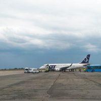 LOT начал полёты из Запорожья в Варшаву