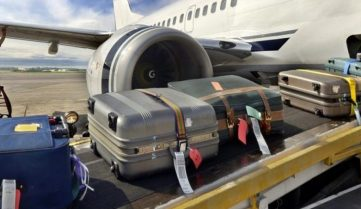 В «Борисполе» передвижение багажа будут транслировать пассажирам