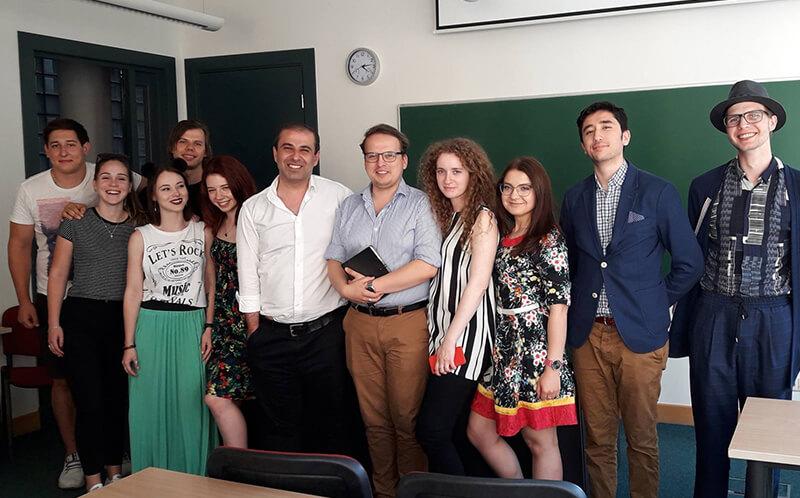 Латвийские студенты