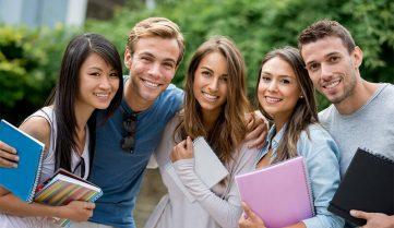 Студенты, швейцарский университет