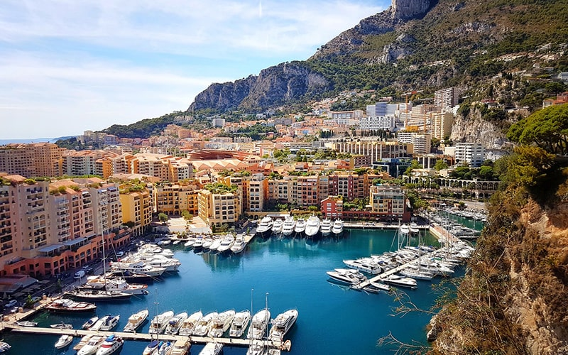 Тури до Франції, королівство Монако
