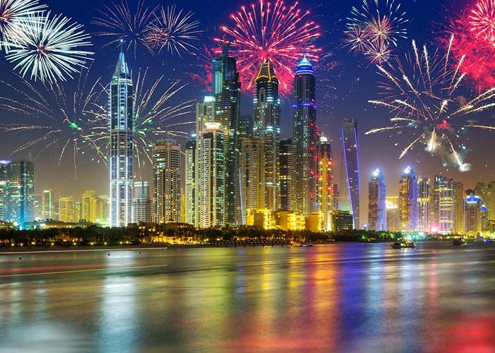 ОАЭ Новый год