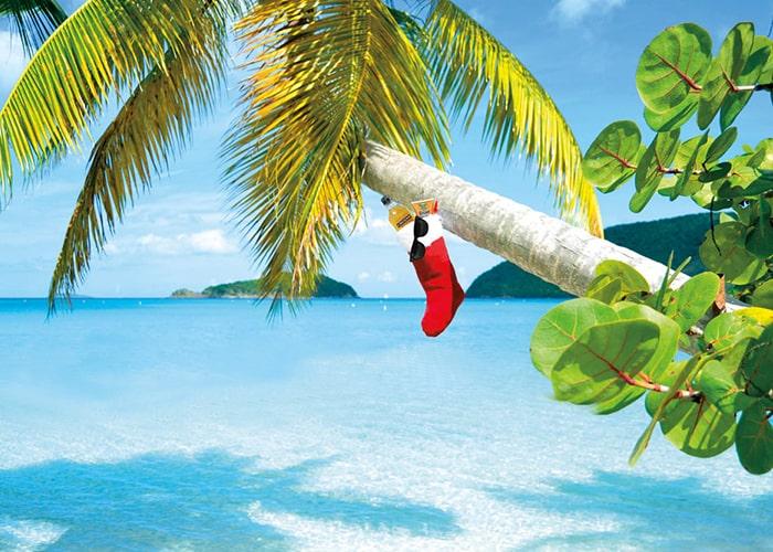 Карибские острова Новый год