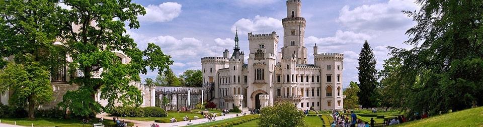 Автобусные туры в Чехию, замок Глубока