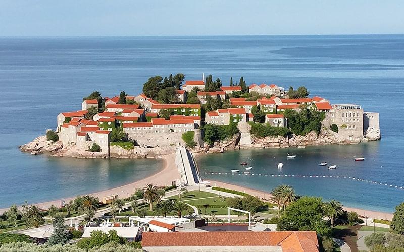 Автобусные туры в Черногорию, остров Св. Стефана