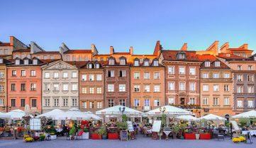 Автобусные туры в Польшу, Варшава