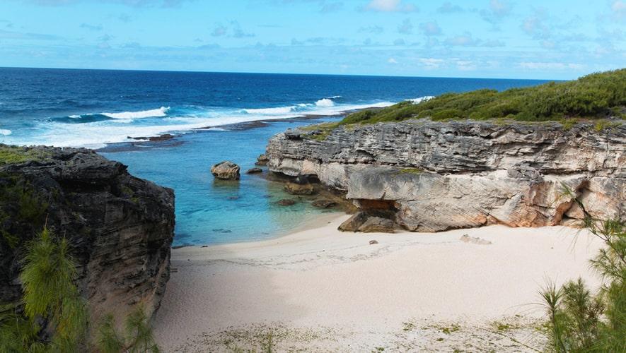 Trou d'Argent beach, остров Родригес, Mаврикий