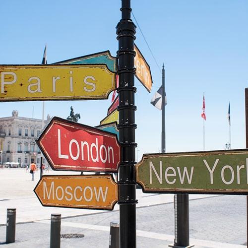 Cамые посещаемые города Европы в 2018