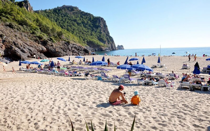 Основные пляжи Аланьи